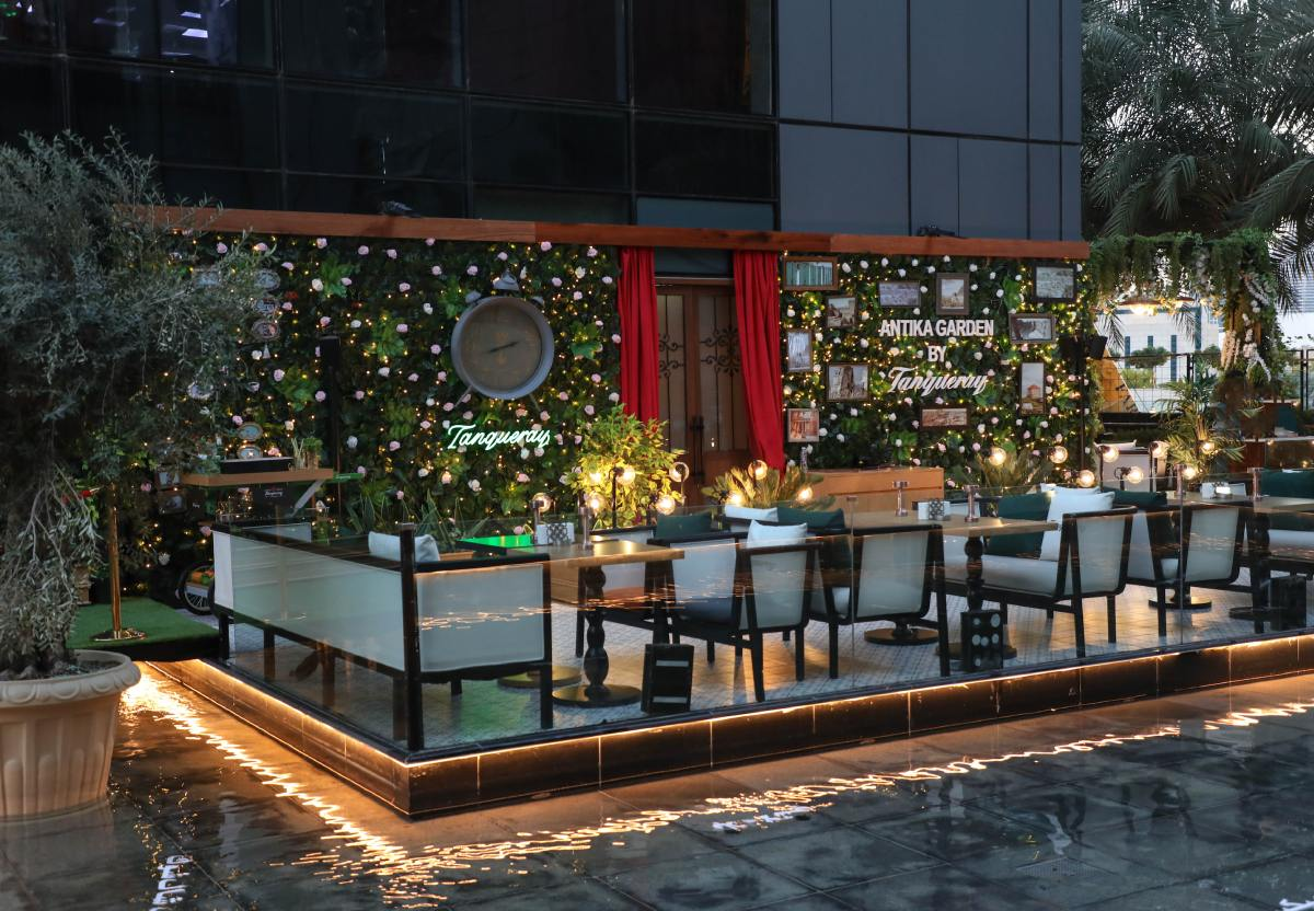 Dubai's Lebanese Hotspot Antika Bar Extends With a New Outdoor Terrace